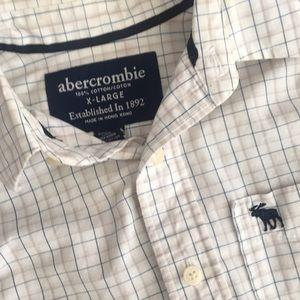 Abercrombie button down shirt xl